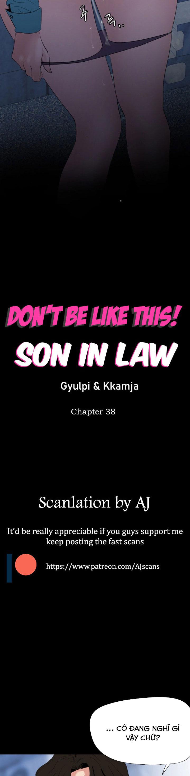 Đọc truyện Con Rể - Chương 38